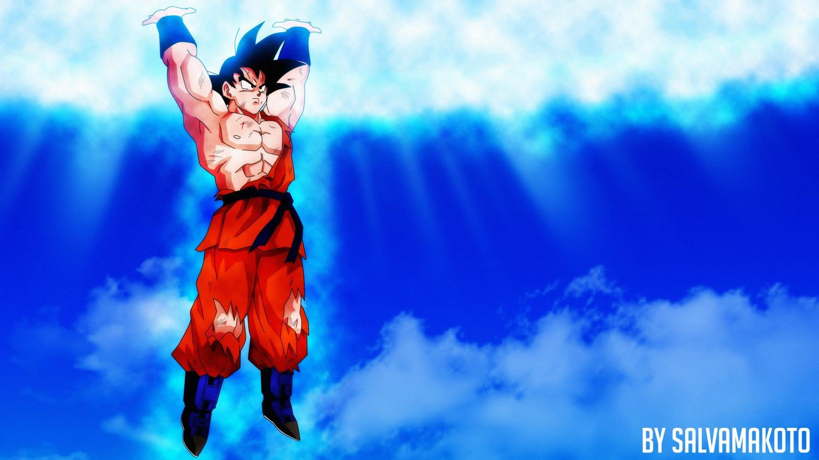 Free download Goku wallpaper ID:462111 hd 1600x900 for computer