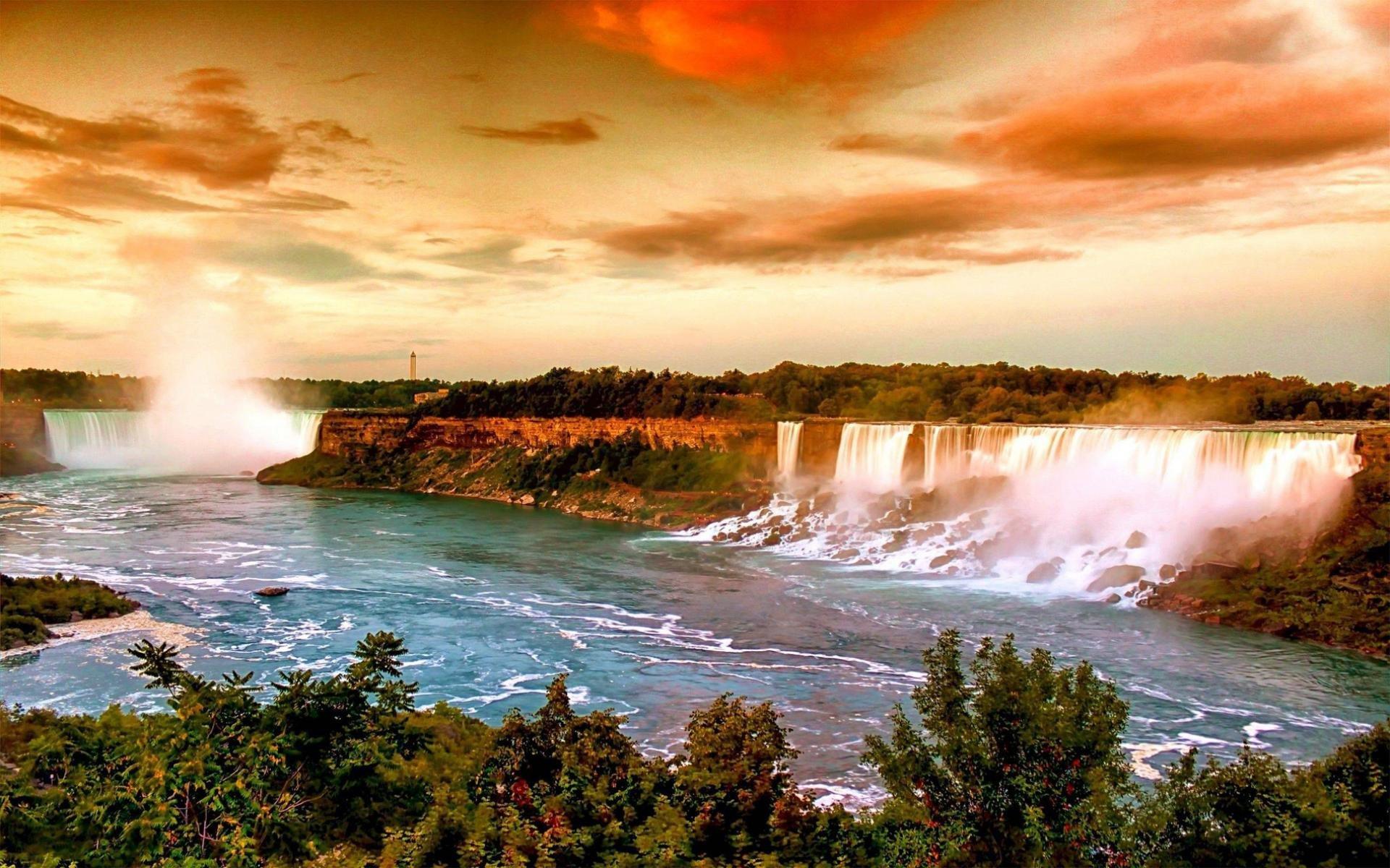 Free Download Niagara Falls Wallpaper Id 67663 Hd 1920x1200 For Computer