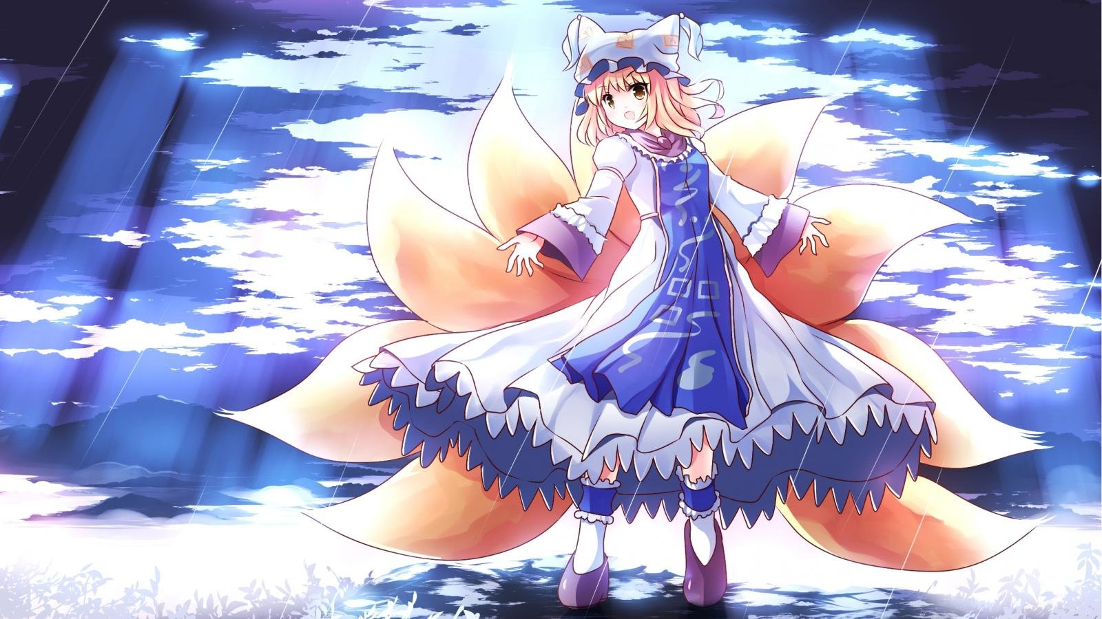 Download hd 1600x900 Ran Yakumo computer wallpaper ID:225043 for free