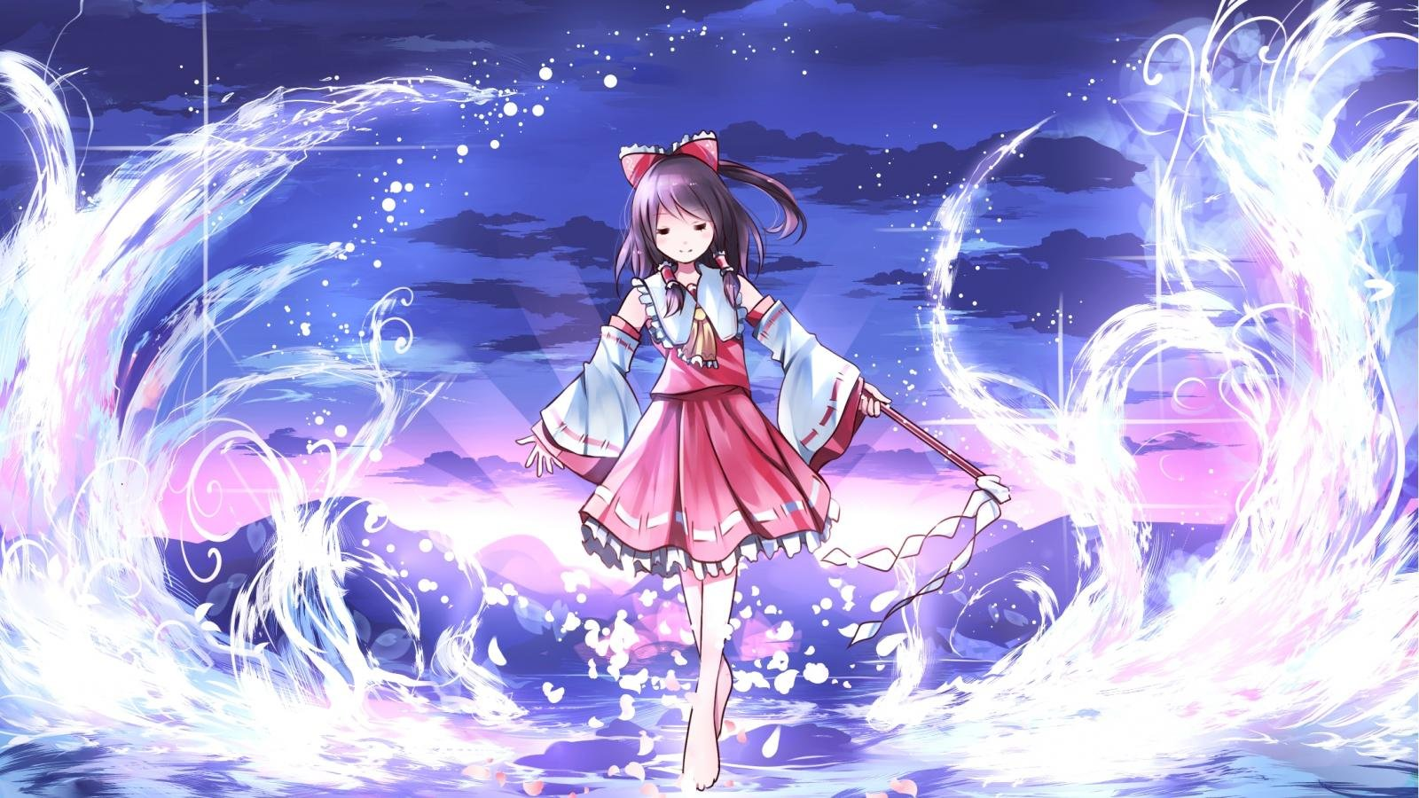 Awesome Reimu Hakurei free background ID:220664 for hd 1600x900 desktop