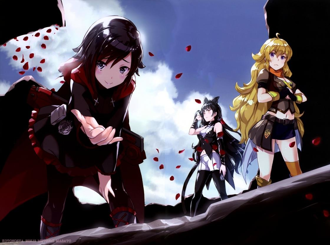 Download hd 1120x832 RWBY desktop background ID:437761 for free