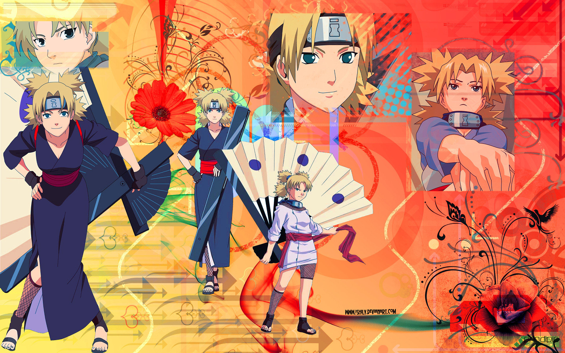 Free Temari (Naruto) high quality wallpaper ID:395348 for hd 1920x1200 PC