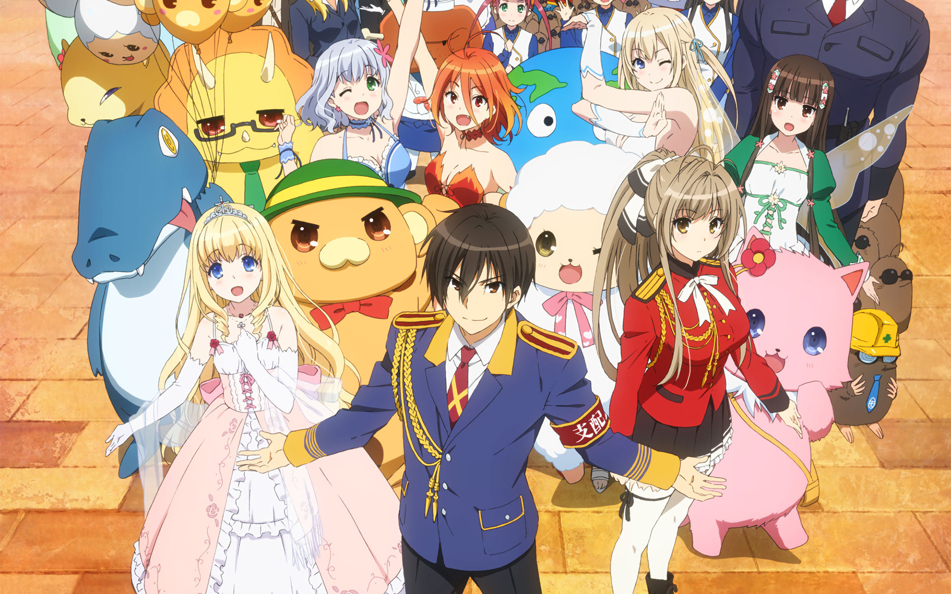 Download hd 1920x1200 Amagi Brilliant Park PC wallpaper ID:246282 for free