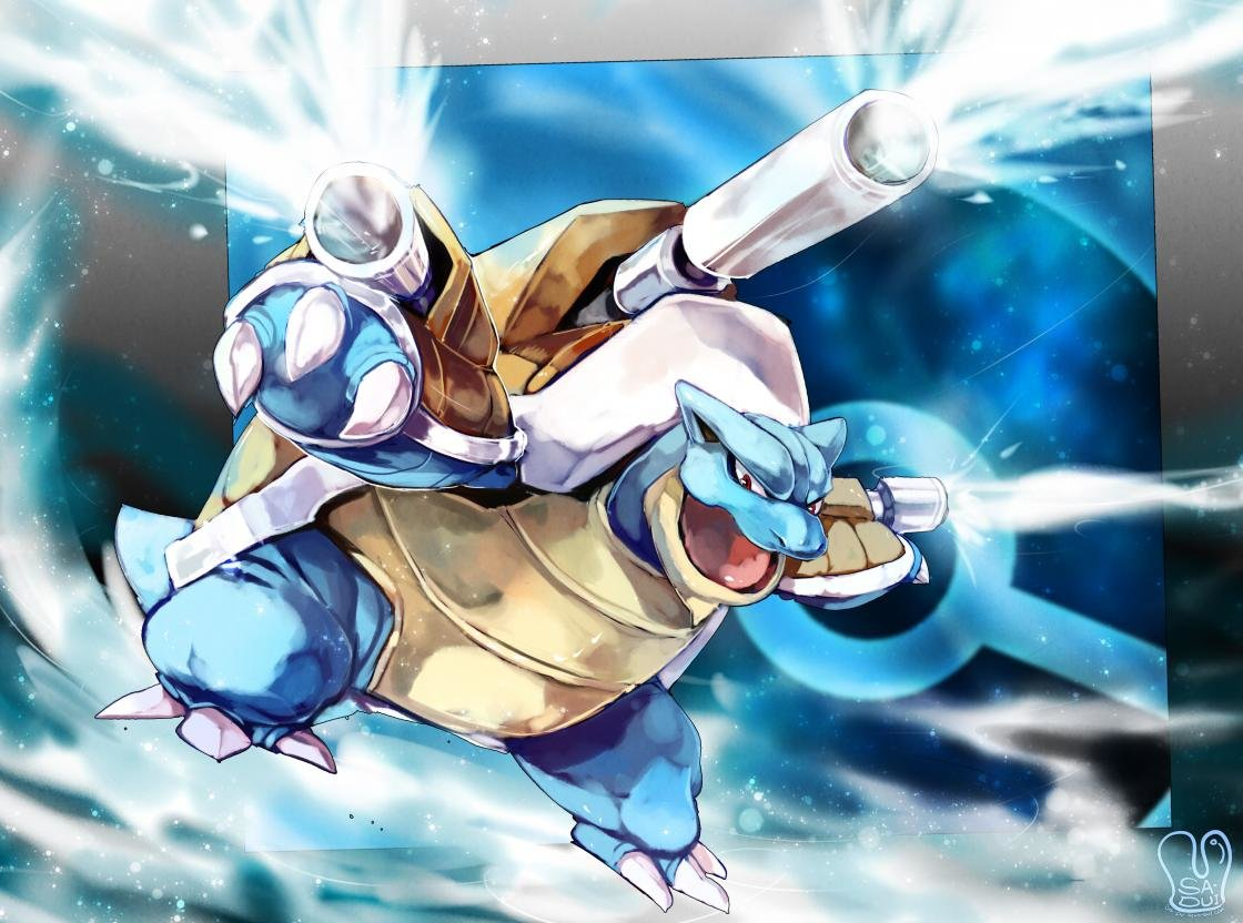 Best Blastoise (Pokemon) background ID:278795 for High Resolution hd 1120x832 computer