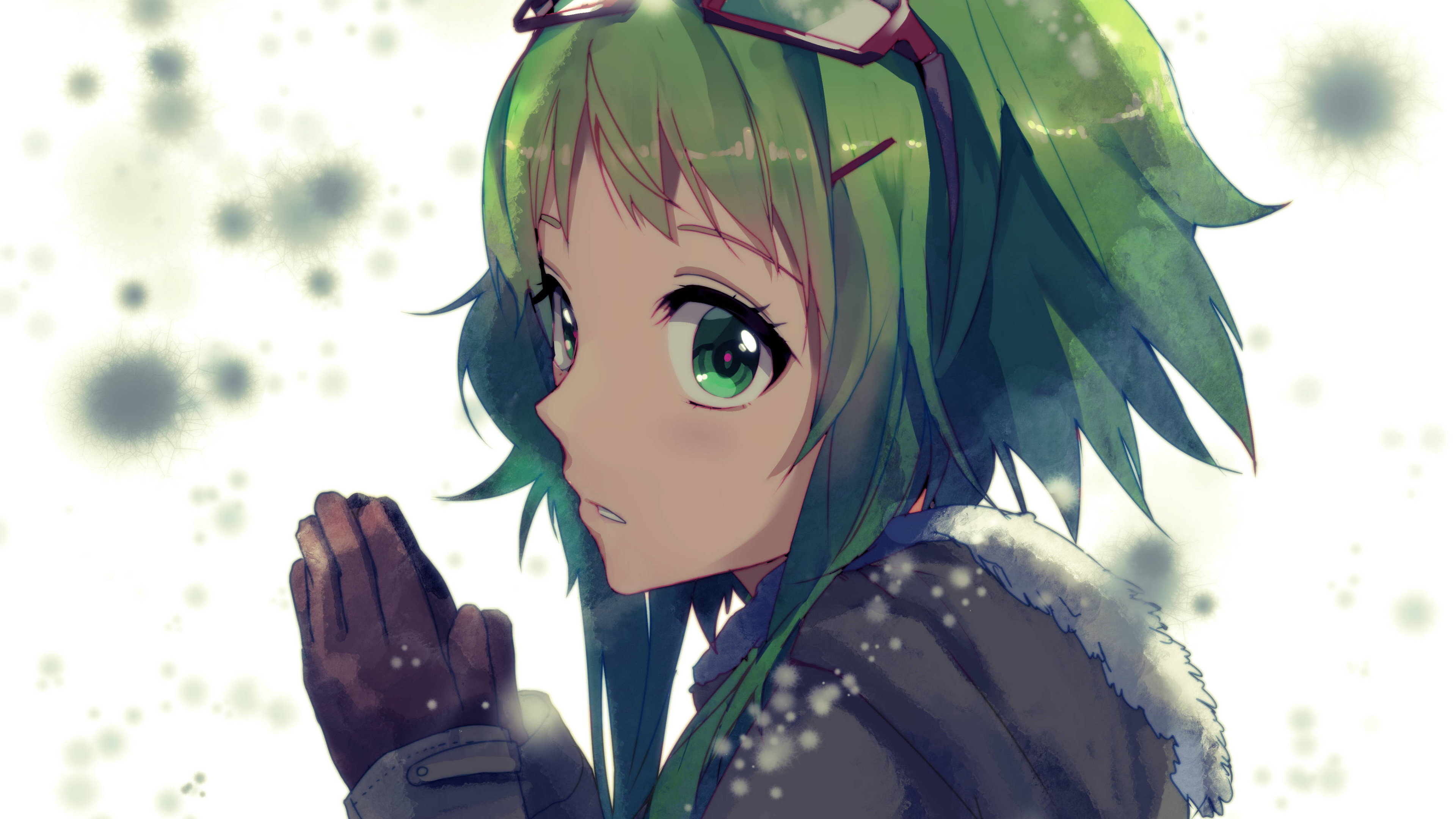 Free GUMI (Vocaloid) high quality wallpaper ID:845 for uhd 4k computer