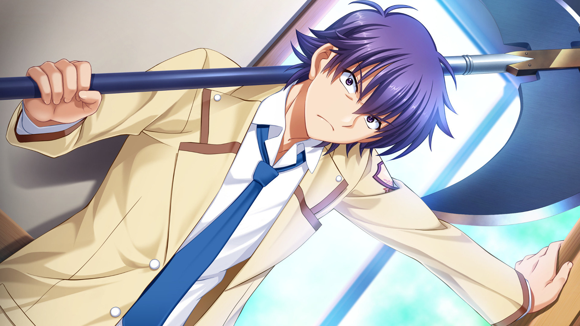Free Noda (Angel Beats!) high quality background ID:235732 for hd 1920x1080 PC