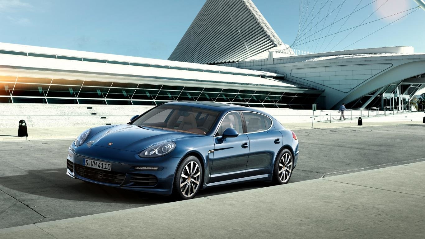 Free download Porsche Panamera wallpaper ID:27833 1366x768 laptop for computer