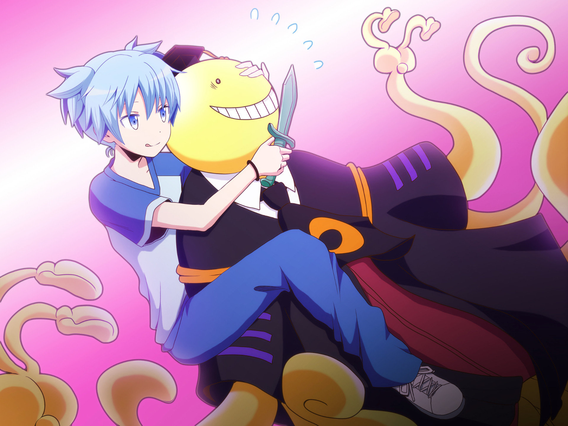 High resolution Assassination Classroom hd 1920x1440 background ID:275190 for desktop