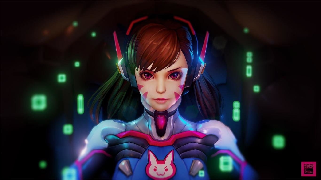 Download Laptop Dva Overwatch Pc Wallpaper Id169955 For Free