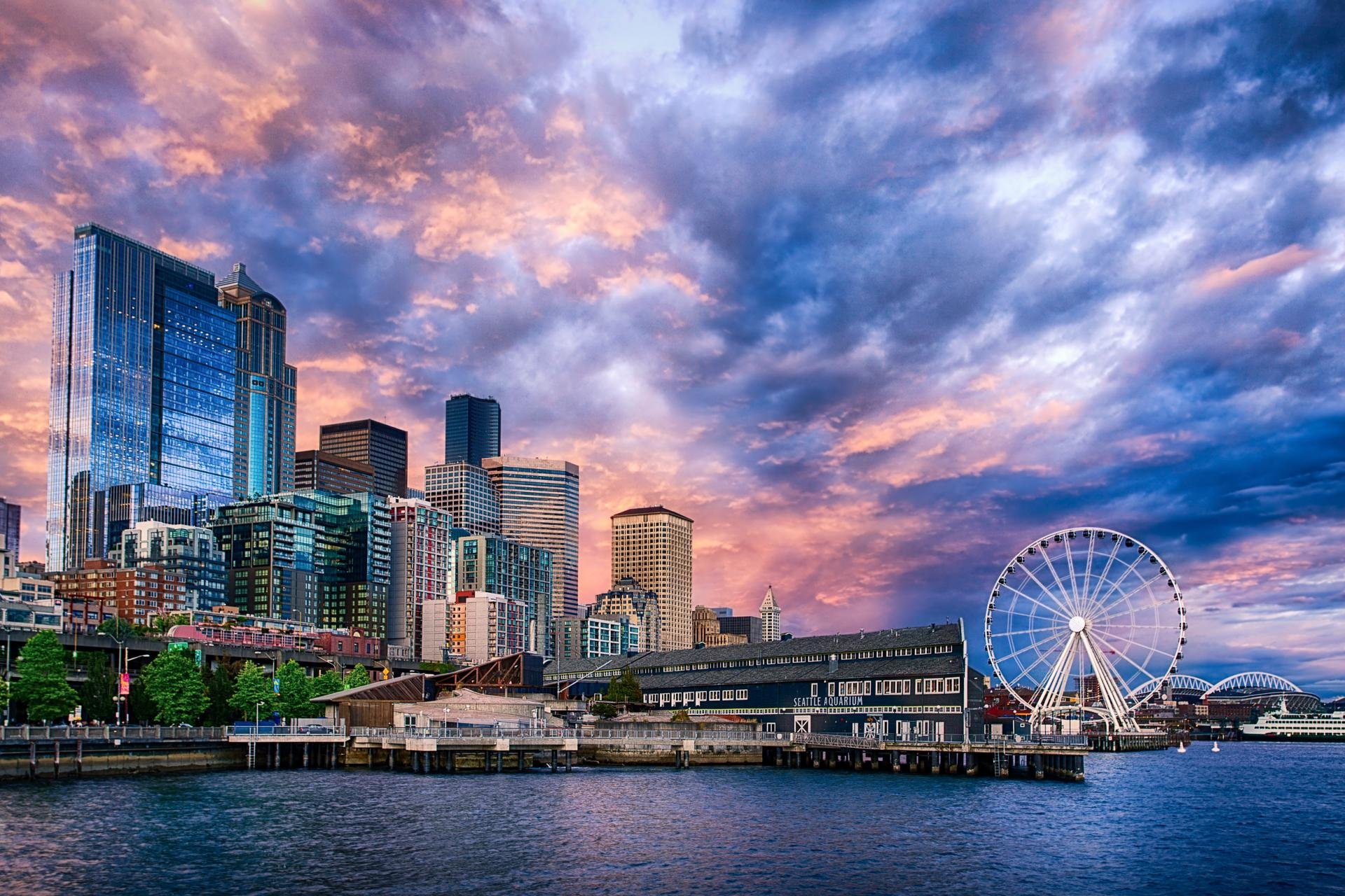 Awesome Seattle free background ID:474425 for hd 1920x1280 desktop