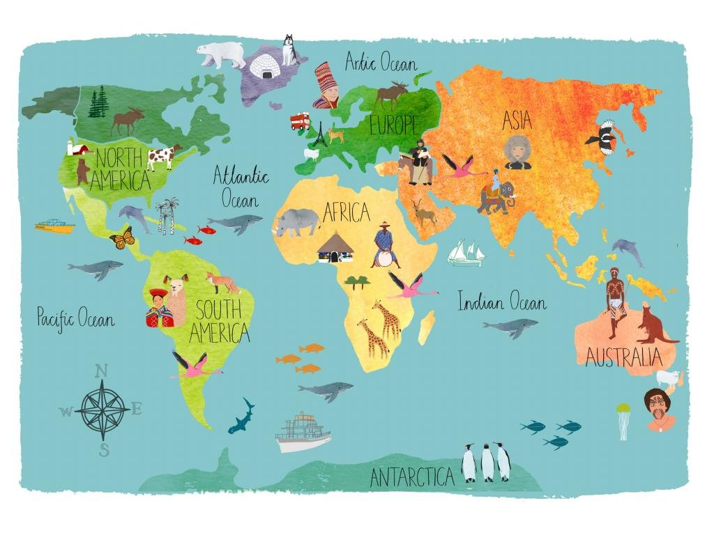 Free download world map wallpaper id486323 hd 1024x768 for computer gumiabroncs Gallery
