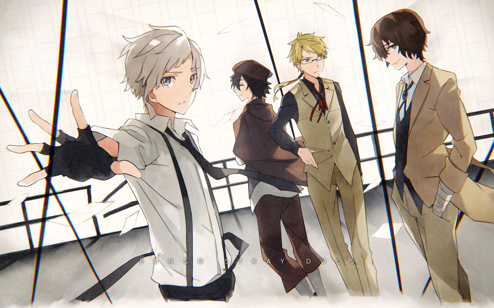 Free Bungou Stray Dogs (BSD) high quality background ID:151503 for hd 1920x1200 PC