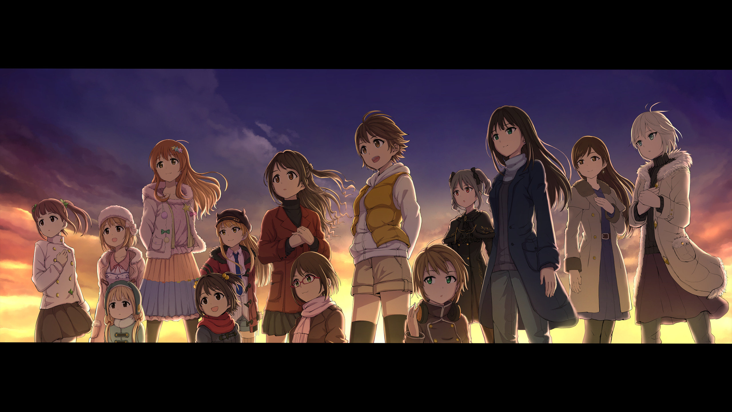 Download hd 2560x1440 IDOLM@STER Cinderella Girls PC wallpaper ID:446831 for free