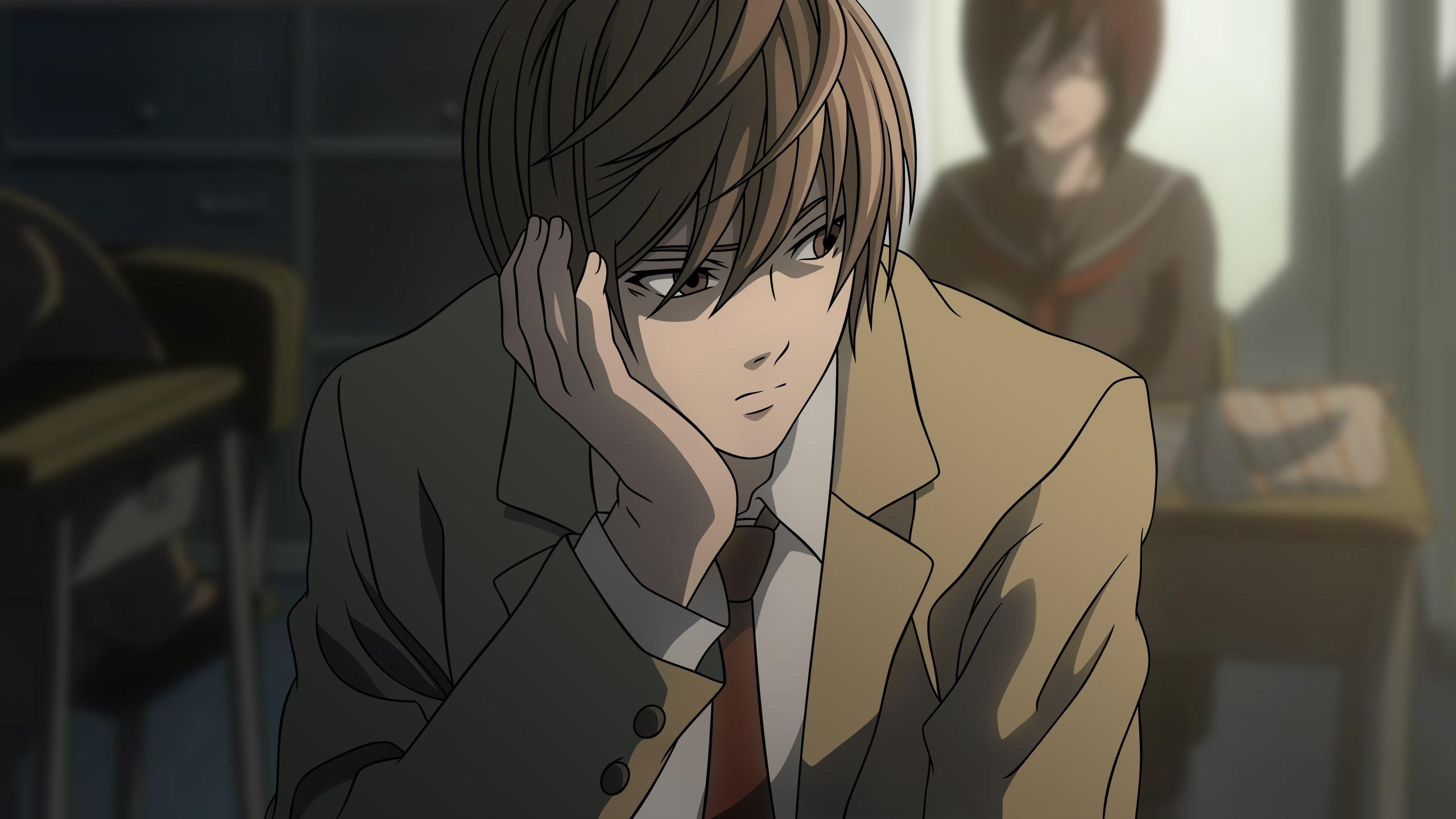Awesome Light Yagami free background ID:402679 for hd 2560x1440 PC