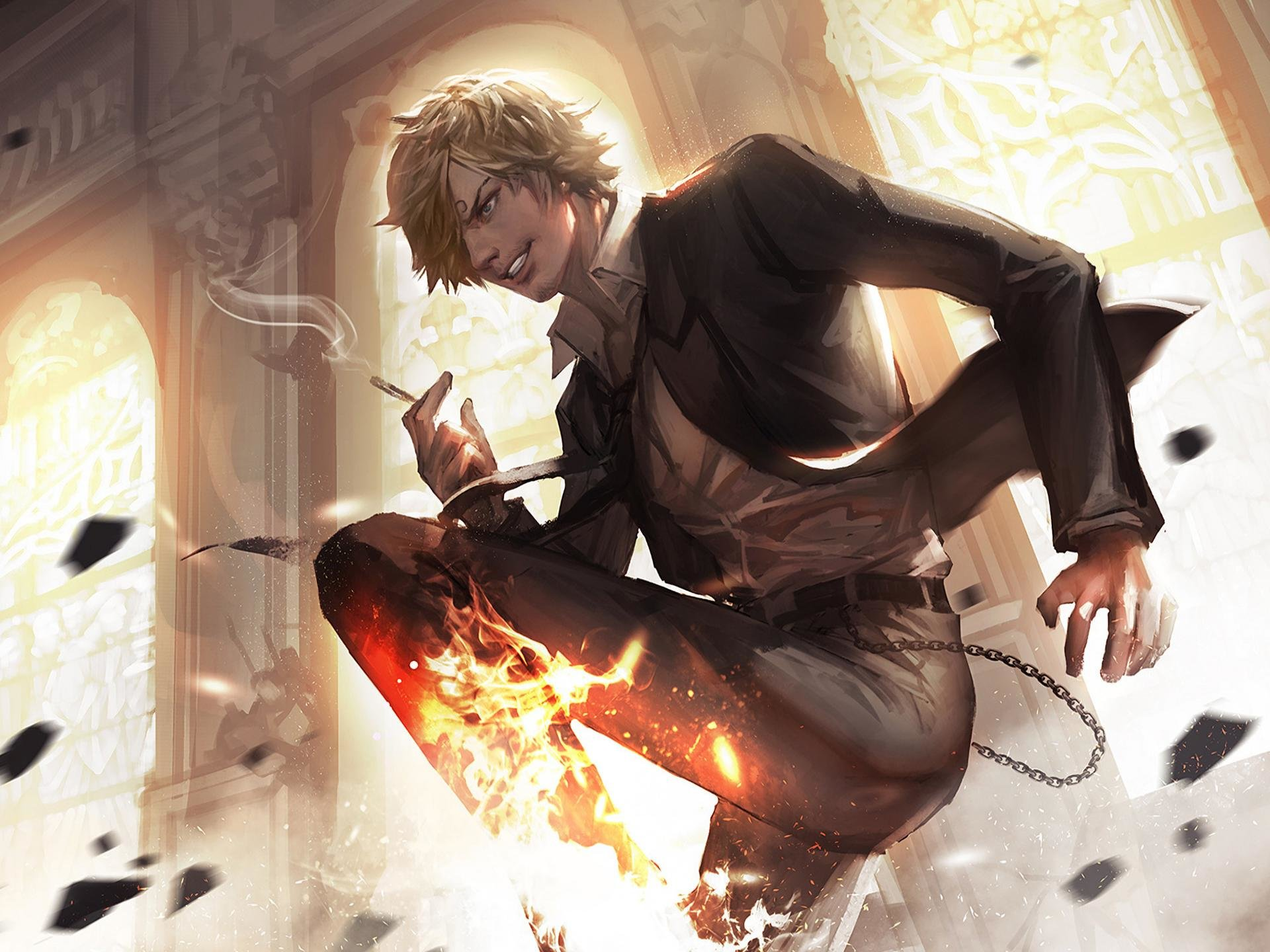 Download hd 1920x1440 Sanji (One Piece) PC background ID:314289 for free
