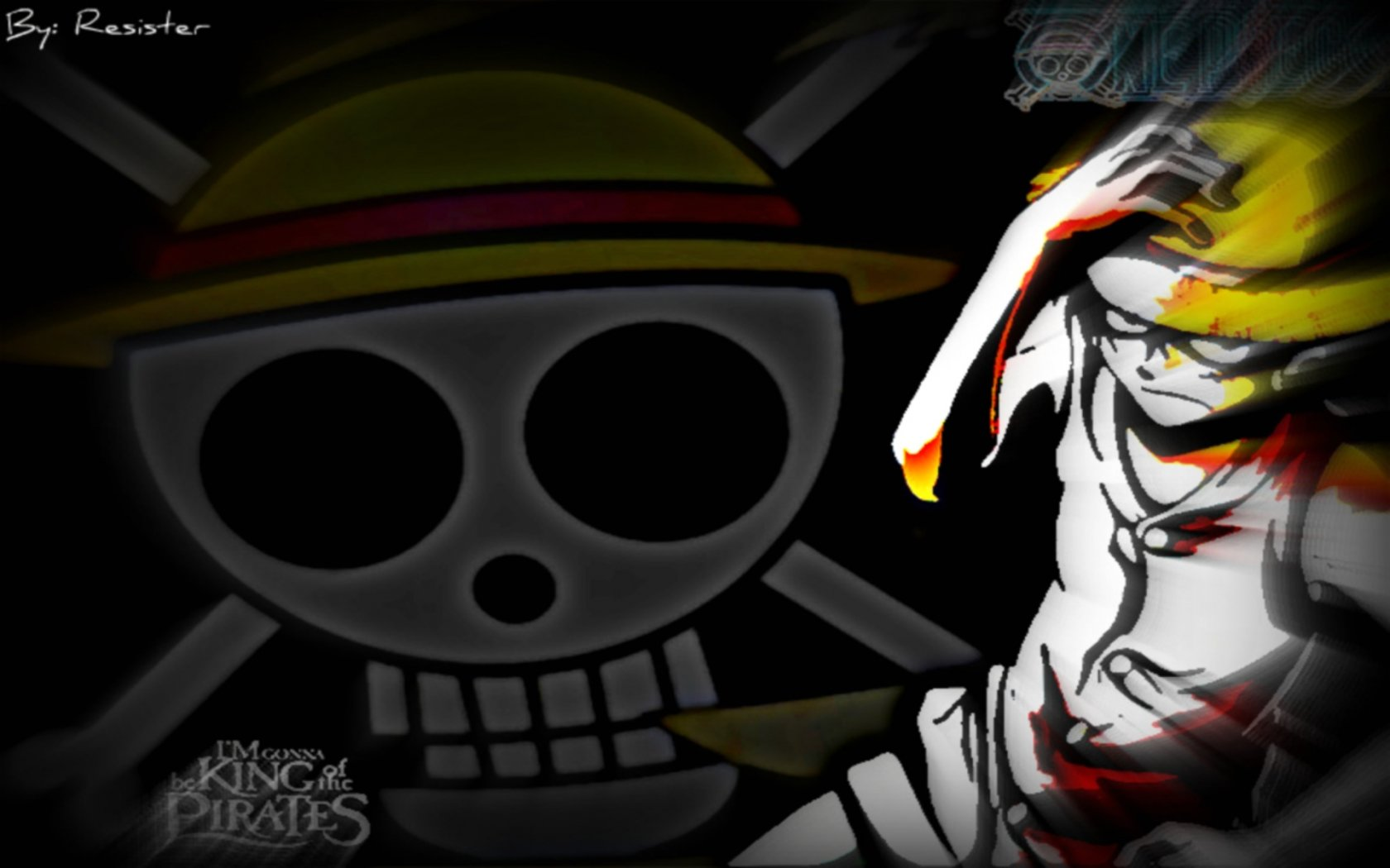 Free download Monkey D. Luffy wallpaper ID:314843 hd 1680x1050 for PC