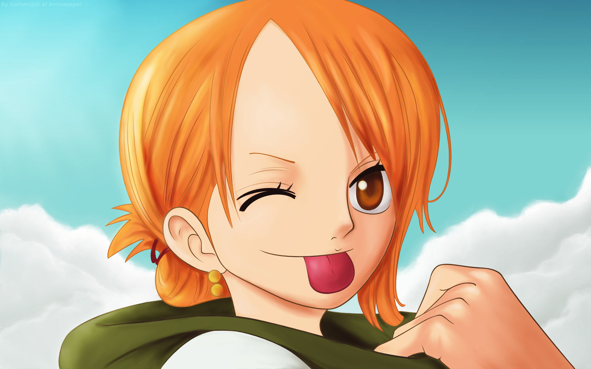 Best Nami (One Piece) wallpaper ID:314837 for High Resolution hd 1920x1200 PC