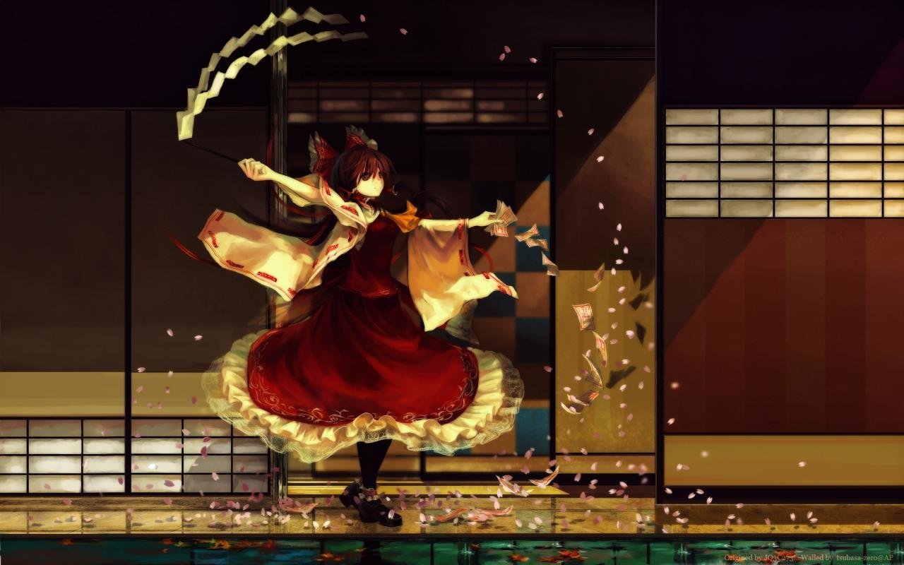 Awesome Reimu Hakurei free background ID:220055 for hd 1280x800 desktop