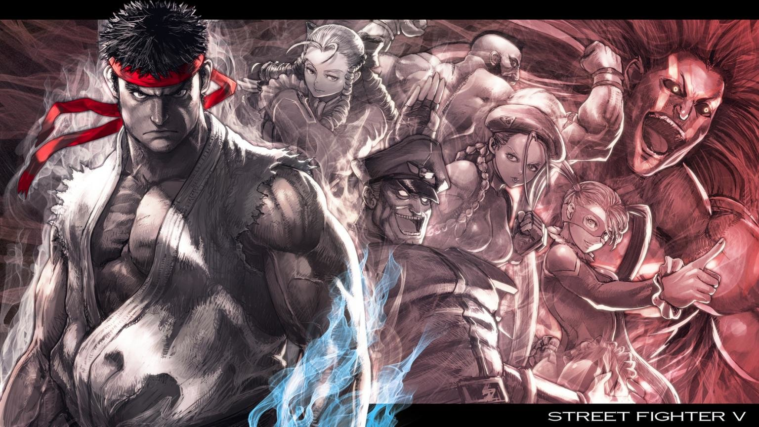 Download Hd 1536x864 Street Fighter 5 Pc Wallpaper Id 470048 For Free