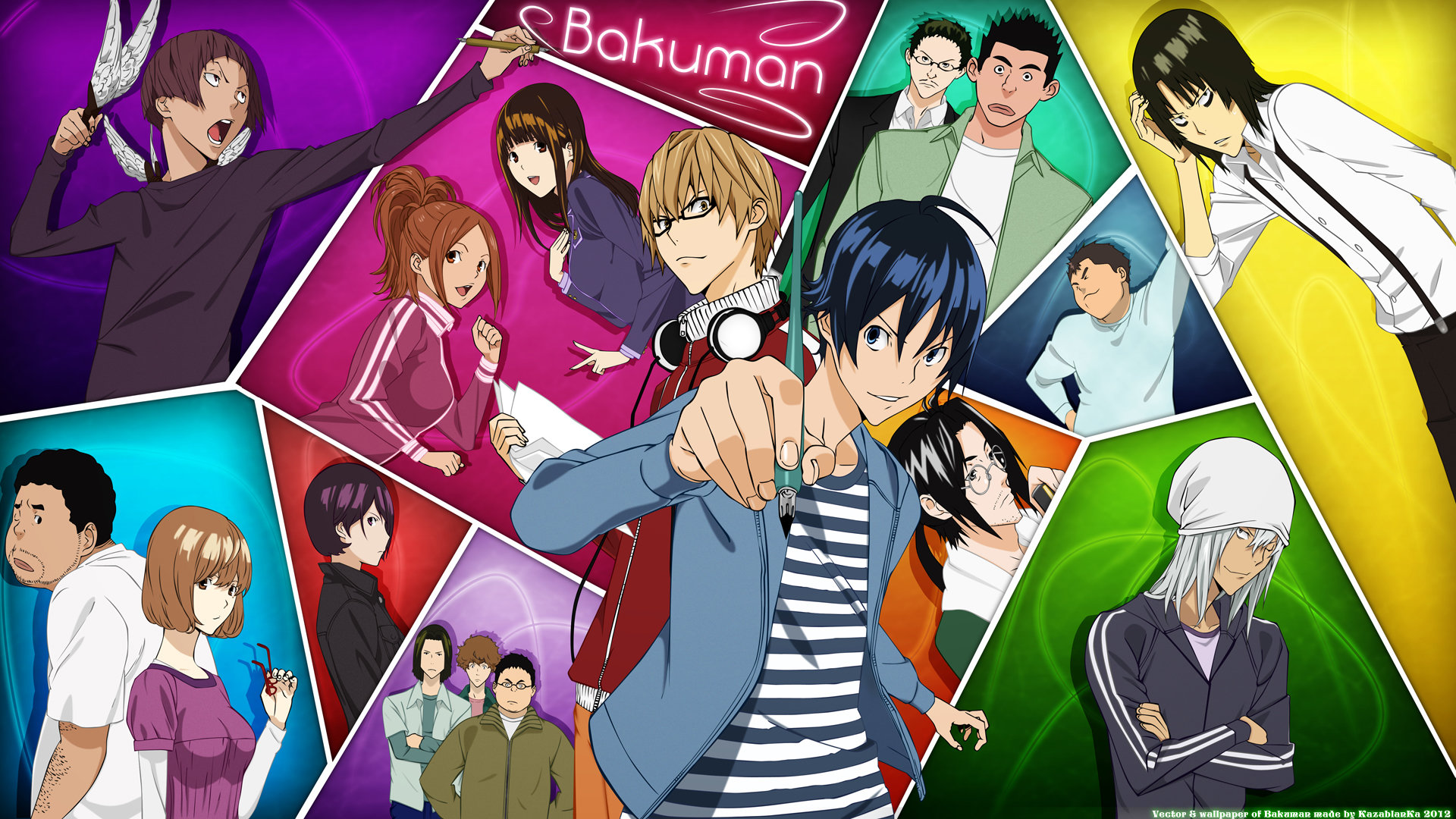 Best Bakuman background ID:470442 for High Resolution hd 1920x1080 computer