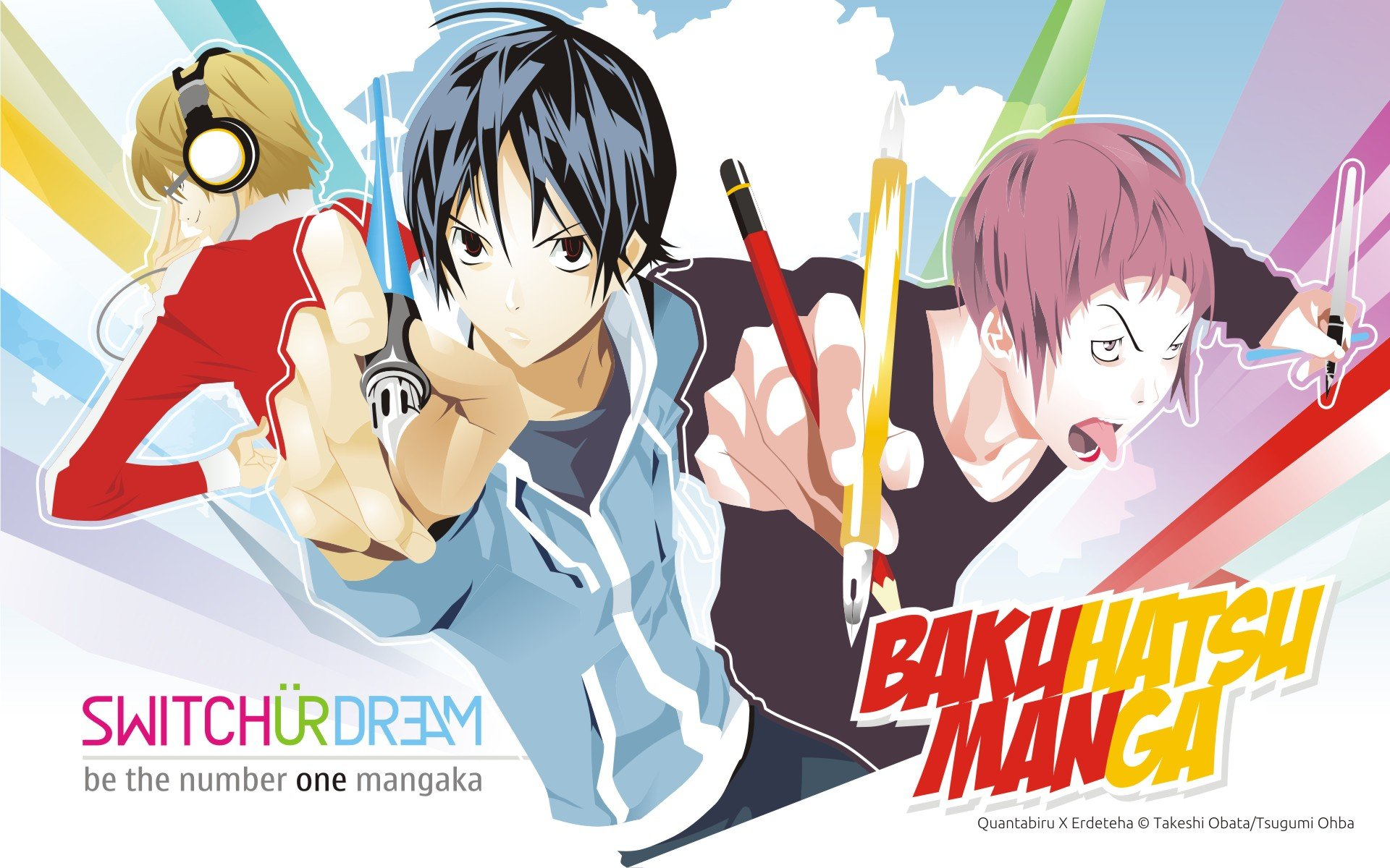 High resolution Bakuman hd 1920x1200 wallpaper ID:470430 for desktop