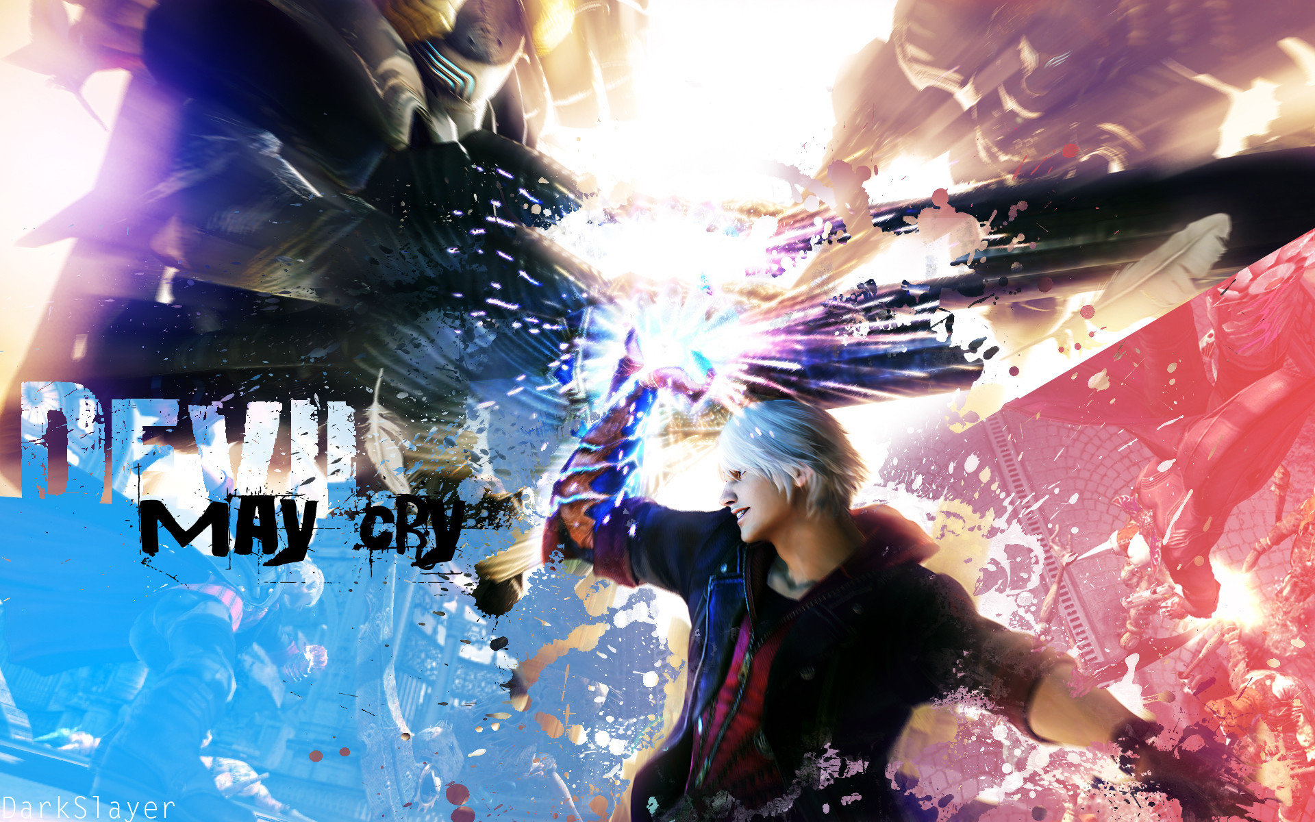 High resolution Devil May Cry Anime hd 1920x1200 background ID:315073 for PC
