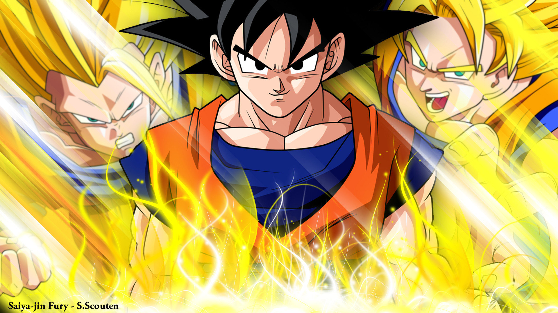 Download Full Hd Goku Pc Wallpaper Id461842 For Free