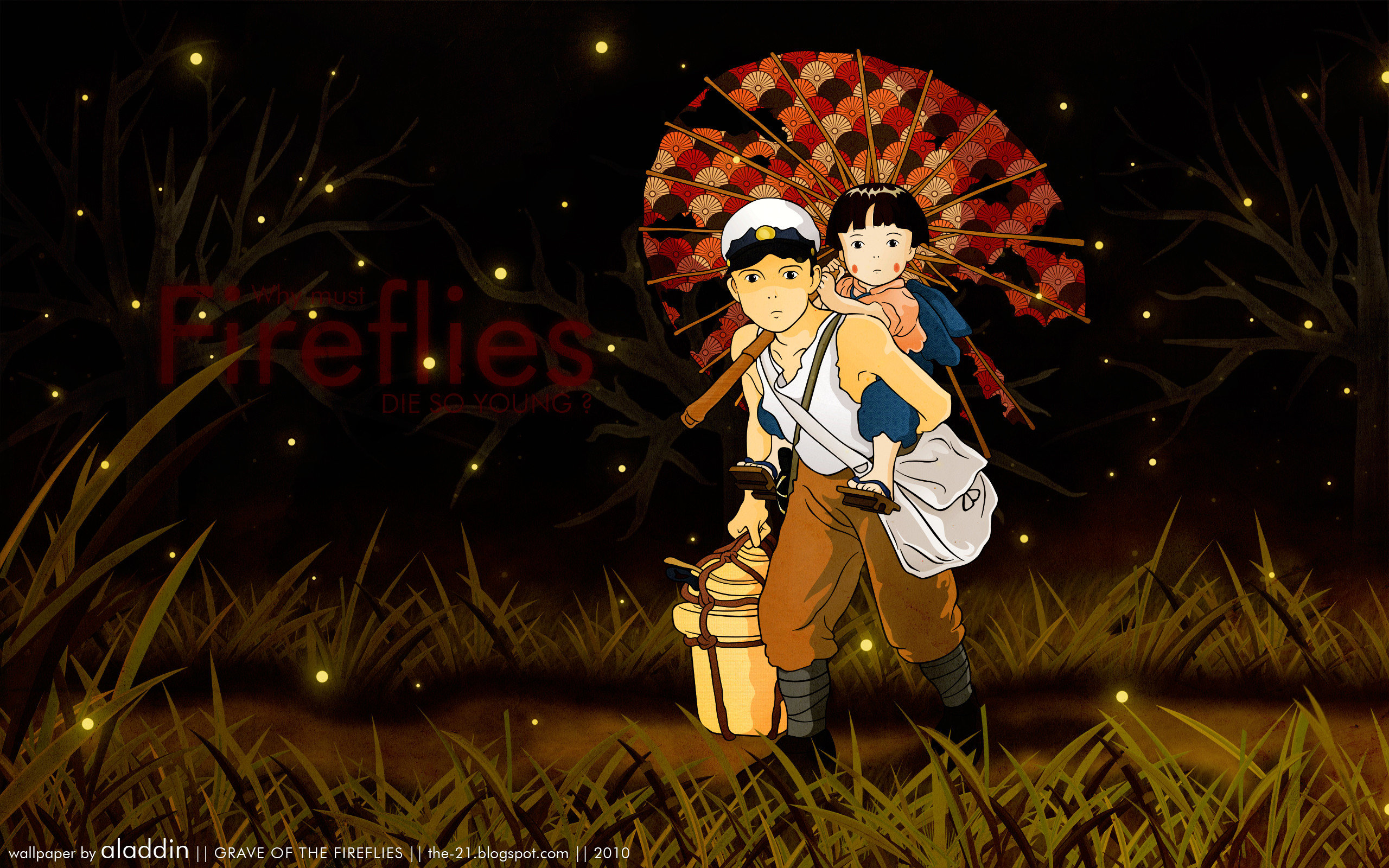 Free Grave Of The Fireflies high quality background ID:241874 for hd 2560x1600 desktop