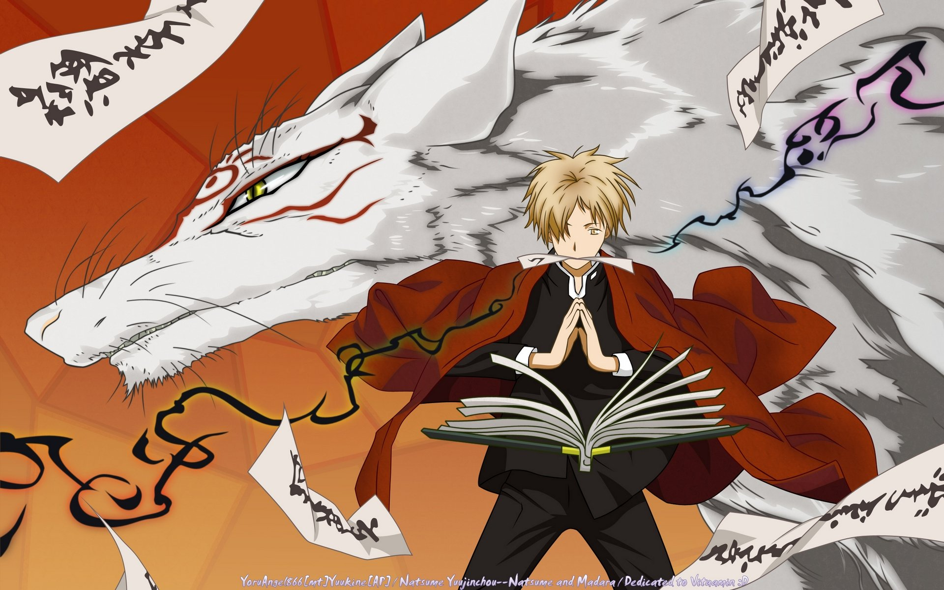 Download hd 1920x1200 Natsume Yuujinchou computer background ID:101375 for free