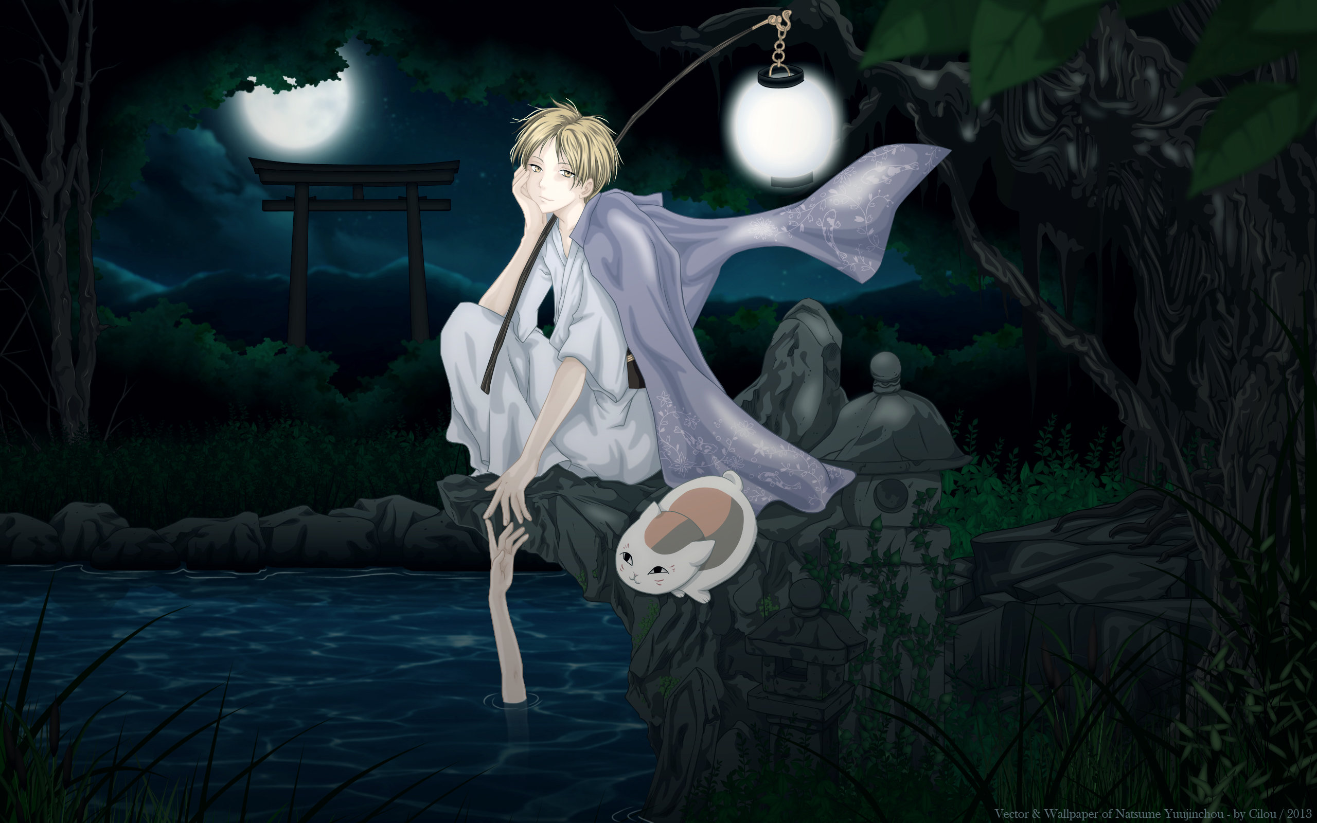 Free Natsume Yuujinchou high quality background ID:101376 for hd 2560x1600 computer