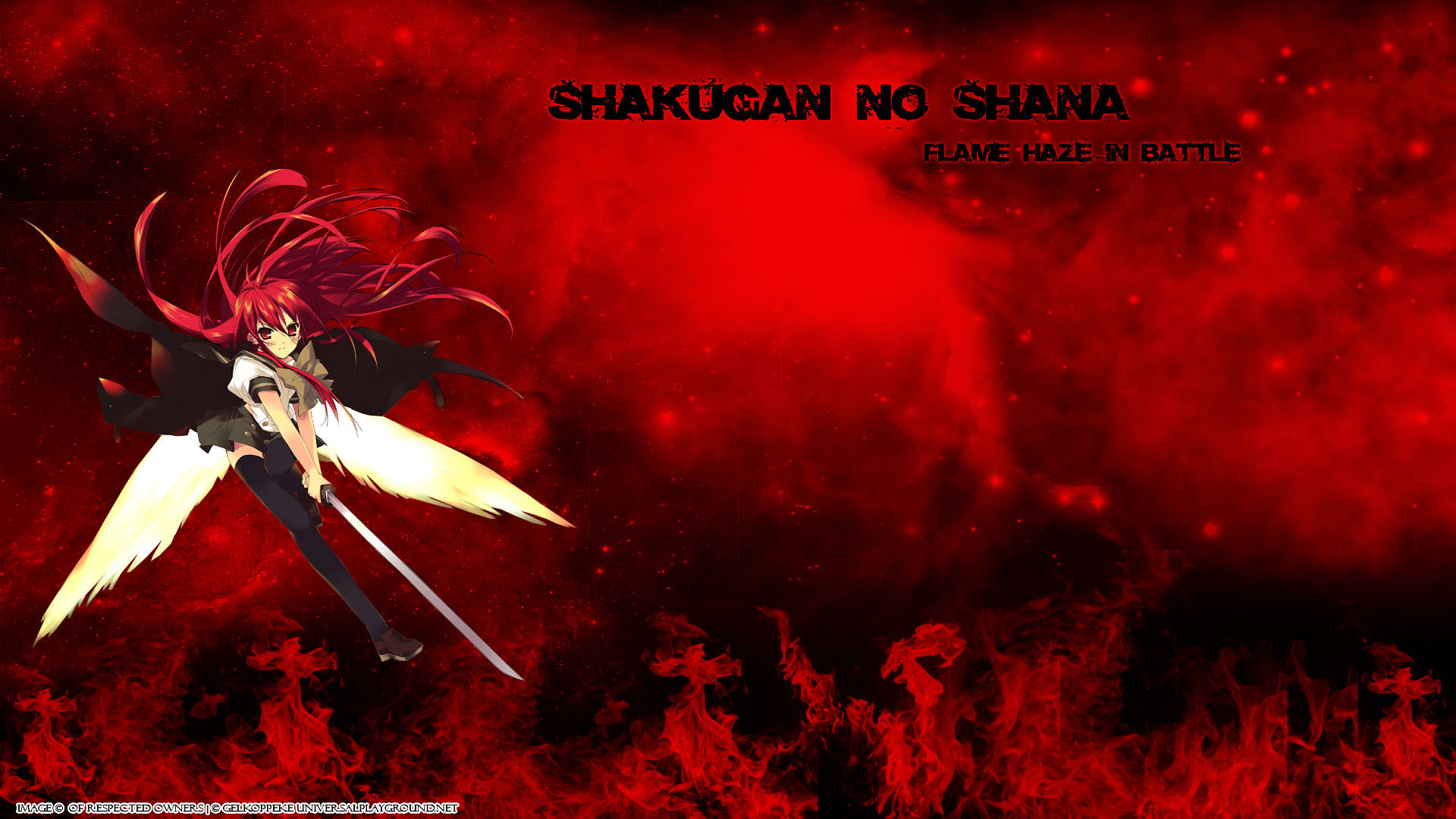 High resolution Shakugan No Shana full hd 1080p background ID:284668 for computer