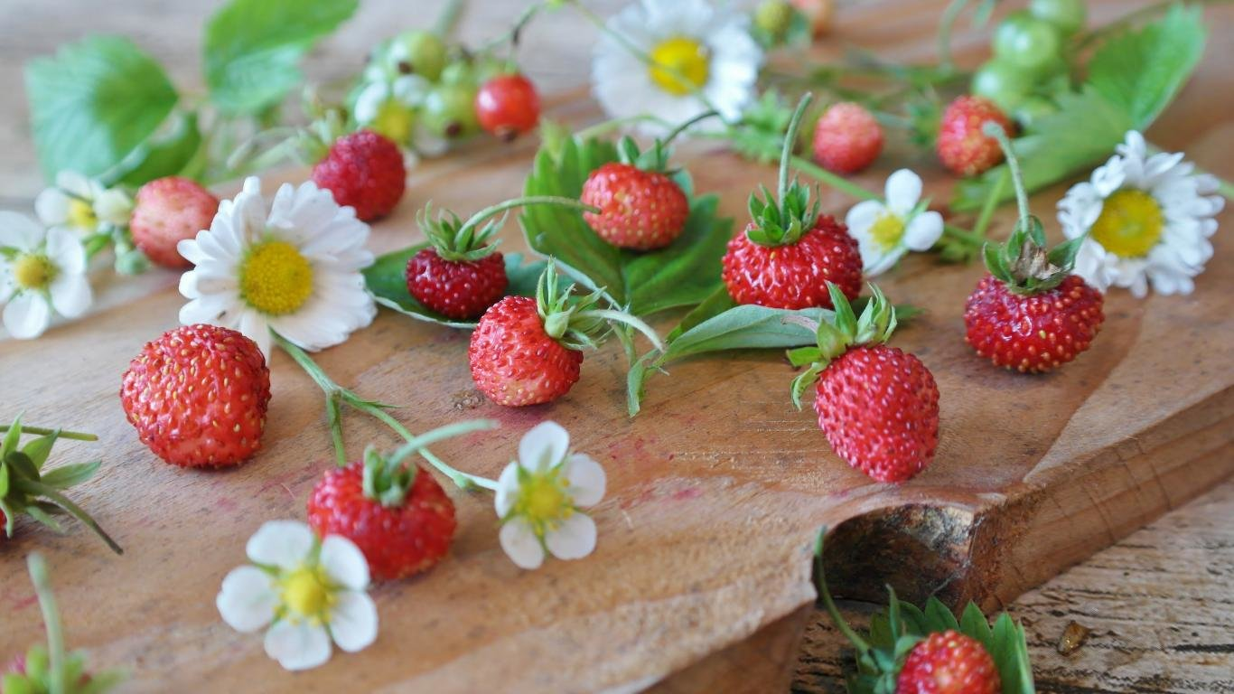 Free Strawberry high quality background ID:90793 for laptop PC