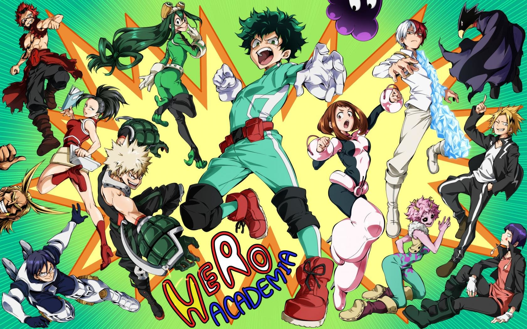 Boku No Hero Academia Wallpapers 1680x1050 Desktop Backgrounds