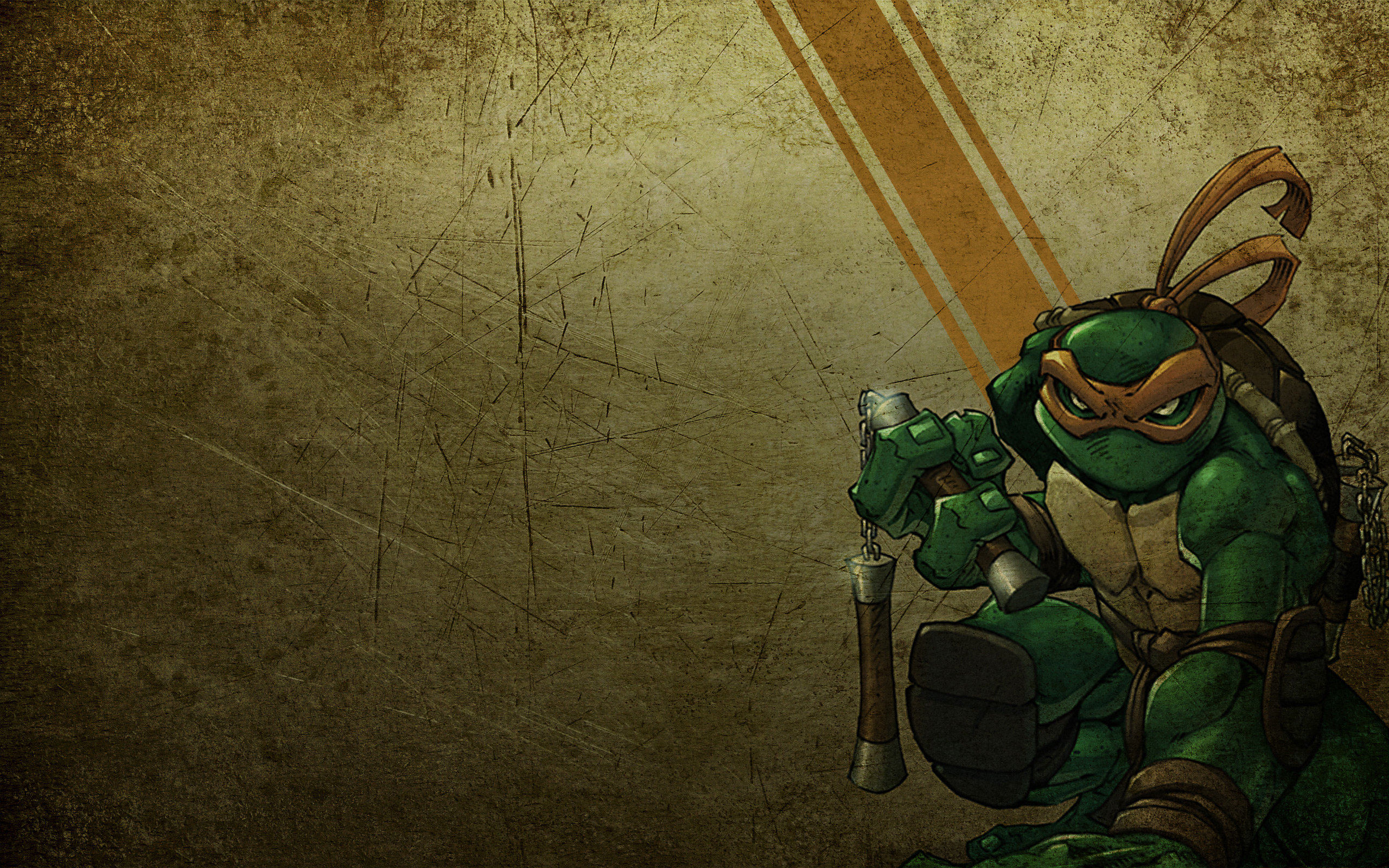 Download hd 2560x1600 Michelangelo (TMNT) computer background ID:111230 for free