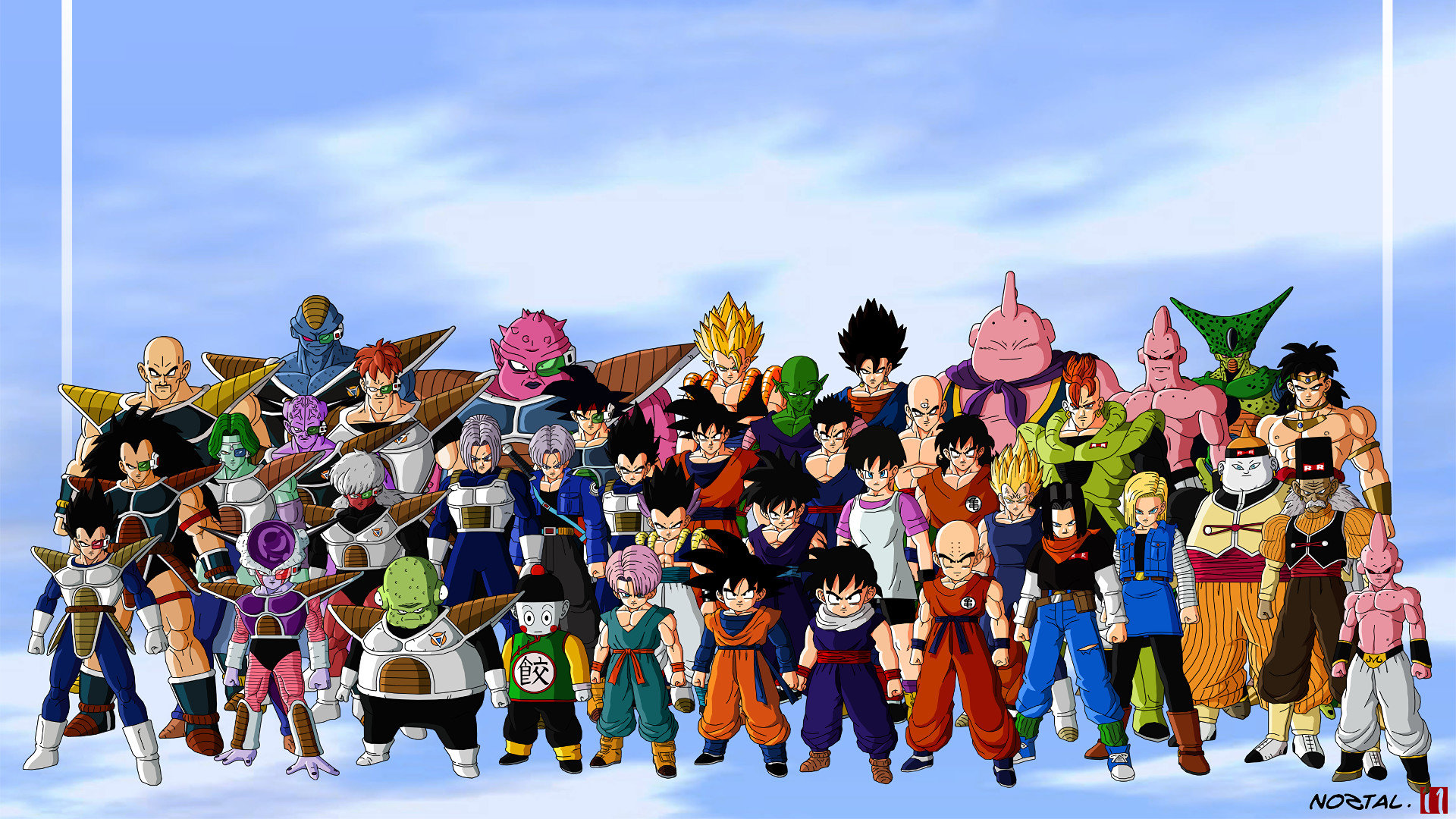 Free Dragon Ball Z (DBZ) high quality background ID:462323 for full hd PC
