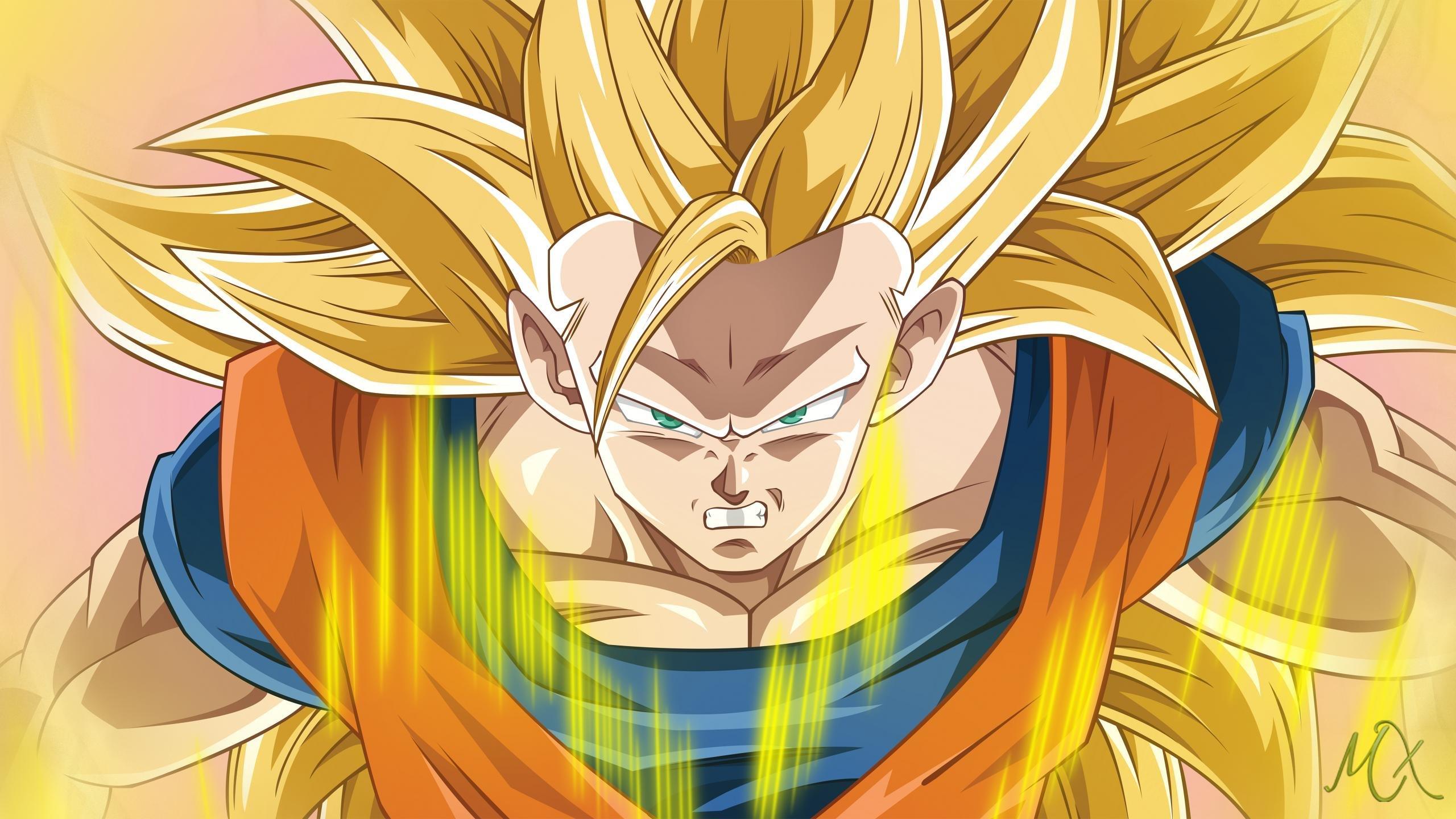 Awesome Goku free background ID:462112 for hd 2560x1440 PC