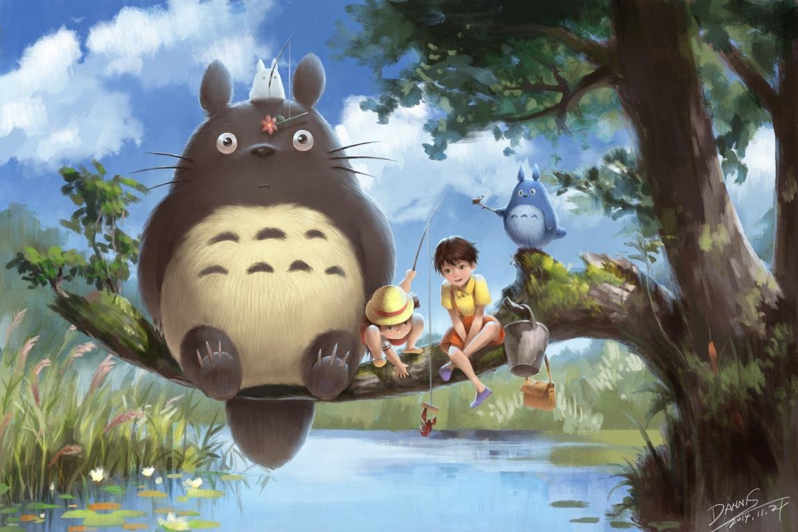 Free My Neighbor Totoro high quality wallpaper ID:259320 for hd 1152x768 desktop