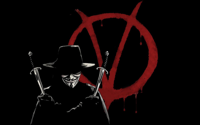 High Resolution V For Vendetta Hd 1440x900 Wallpaper ID92115 Desktop