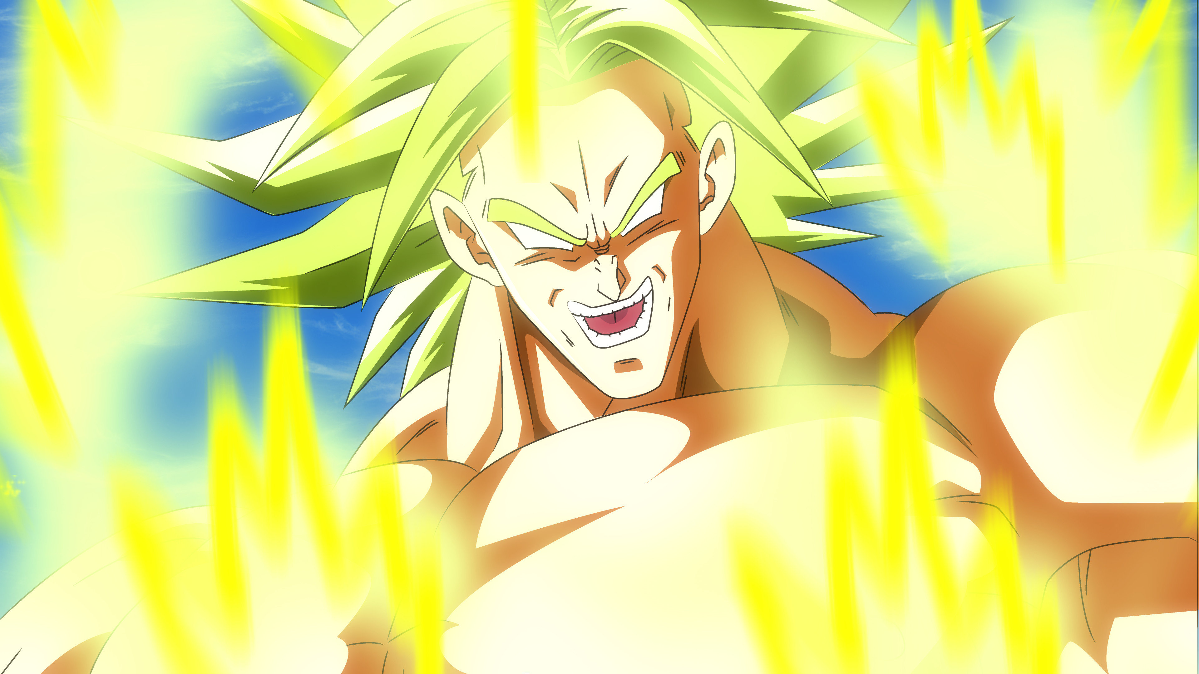 Best Broly (Dragon Ball) background ID:462099 for High Resolution uhd 4k PC