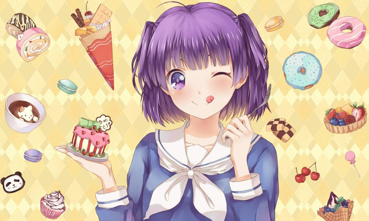 Free Gourmet Girl Graffiti high quality wallpaper ID:292718 for hd 1280x768 PC