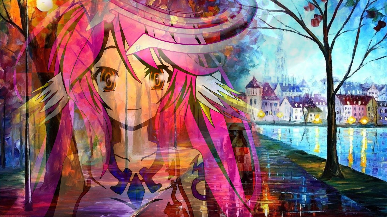 Download hd 1600x900 No Game No Life computer background ID:102404 for free