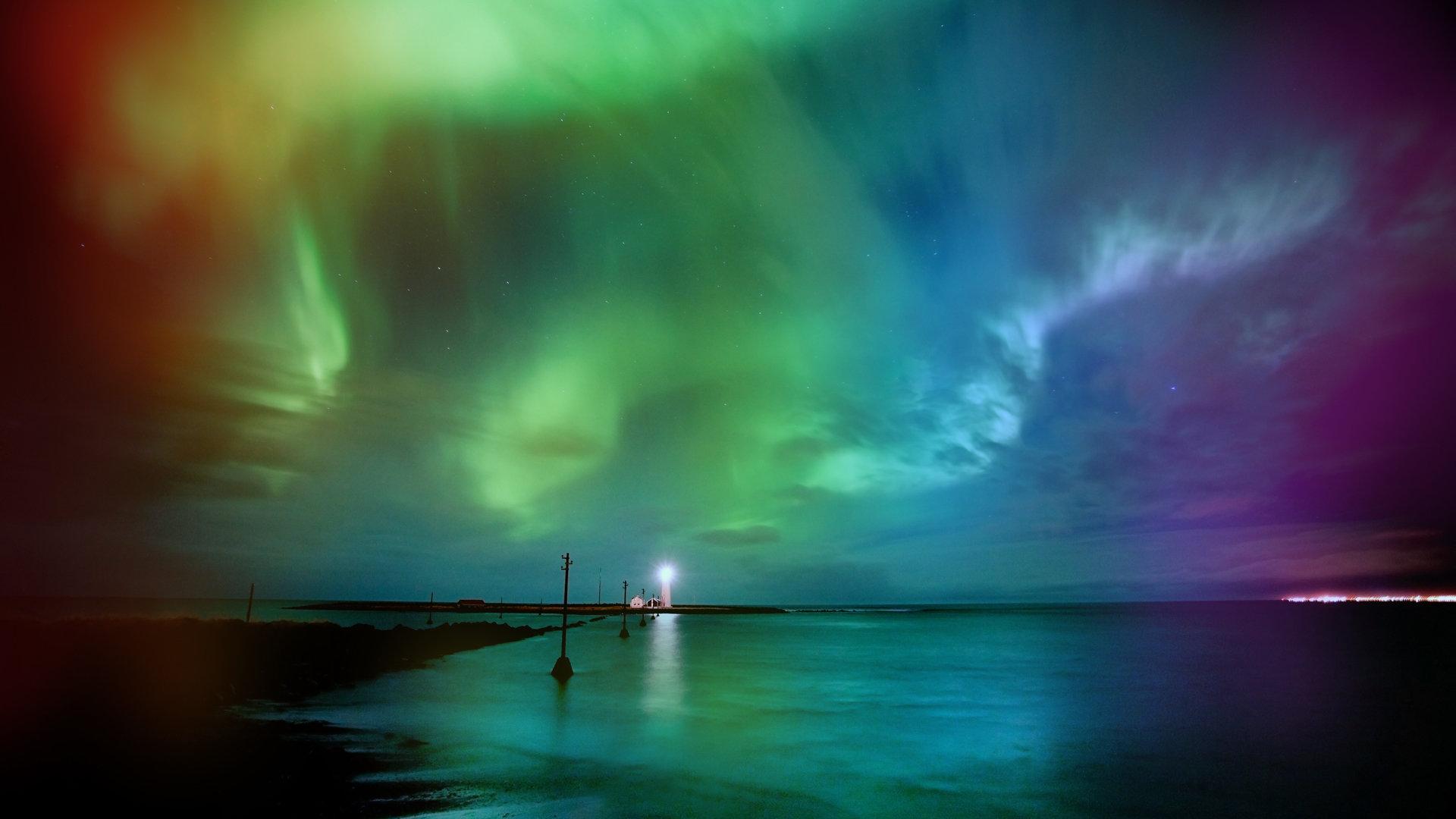Aurora Borealis wallpapers 1920x1080 Full HD (1080p ...