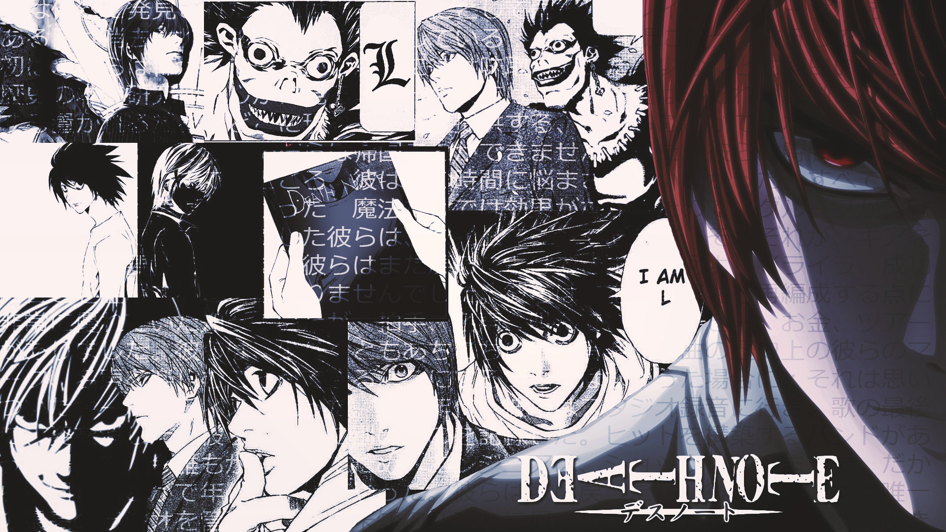 Download full hd 1080p Light Yagami computer background ID:402682 for free