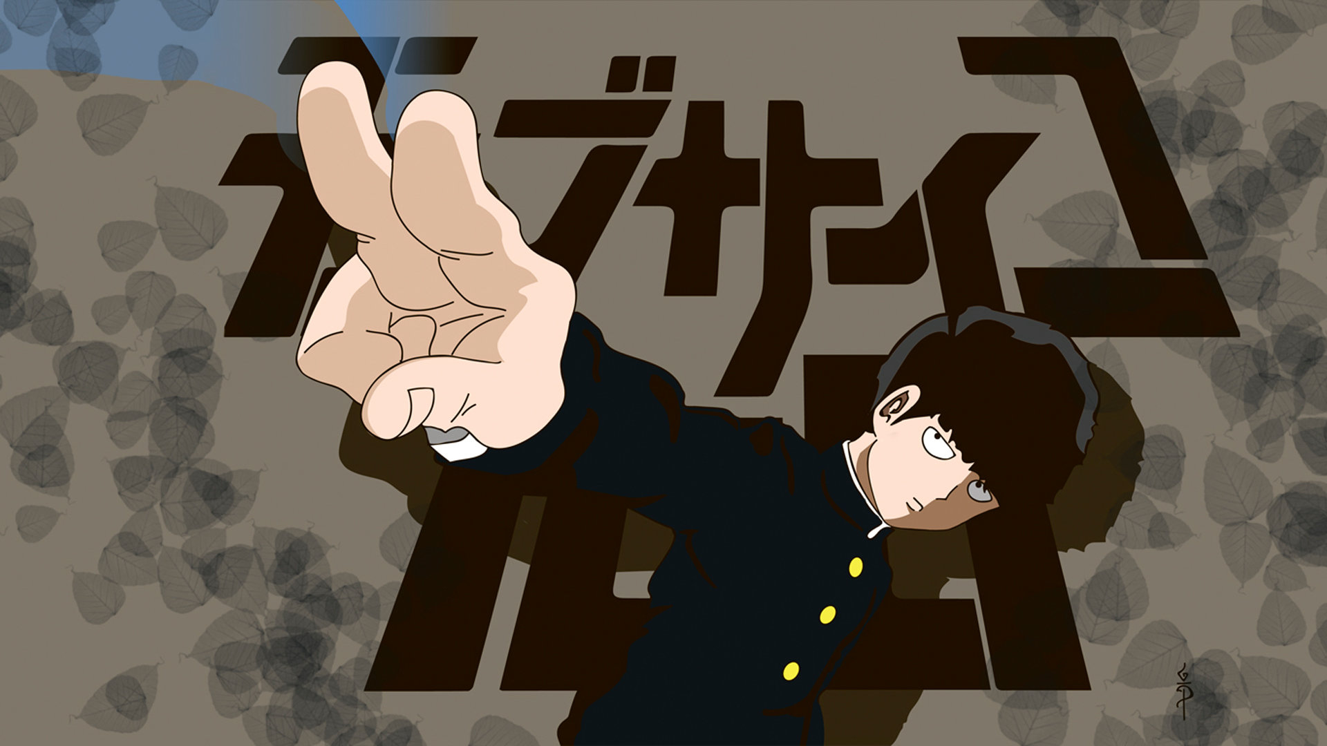 Best Mob Psycho 100 background ID:329008 for High Resolution full hd 1080p PC