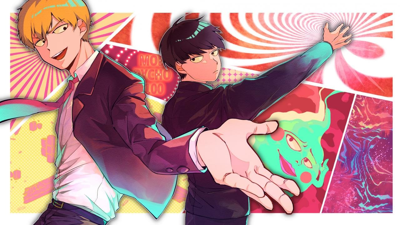 Free download Mob Psycho 100 background ID:328994 hd 720p for computer