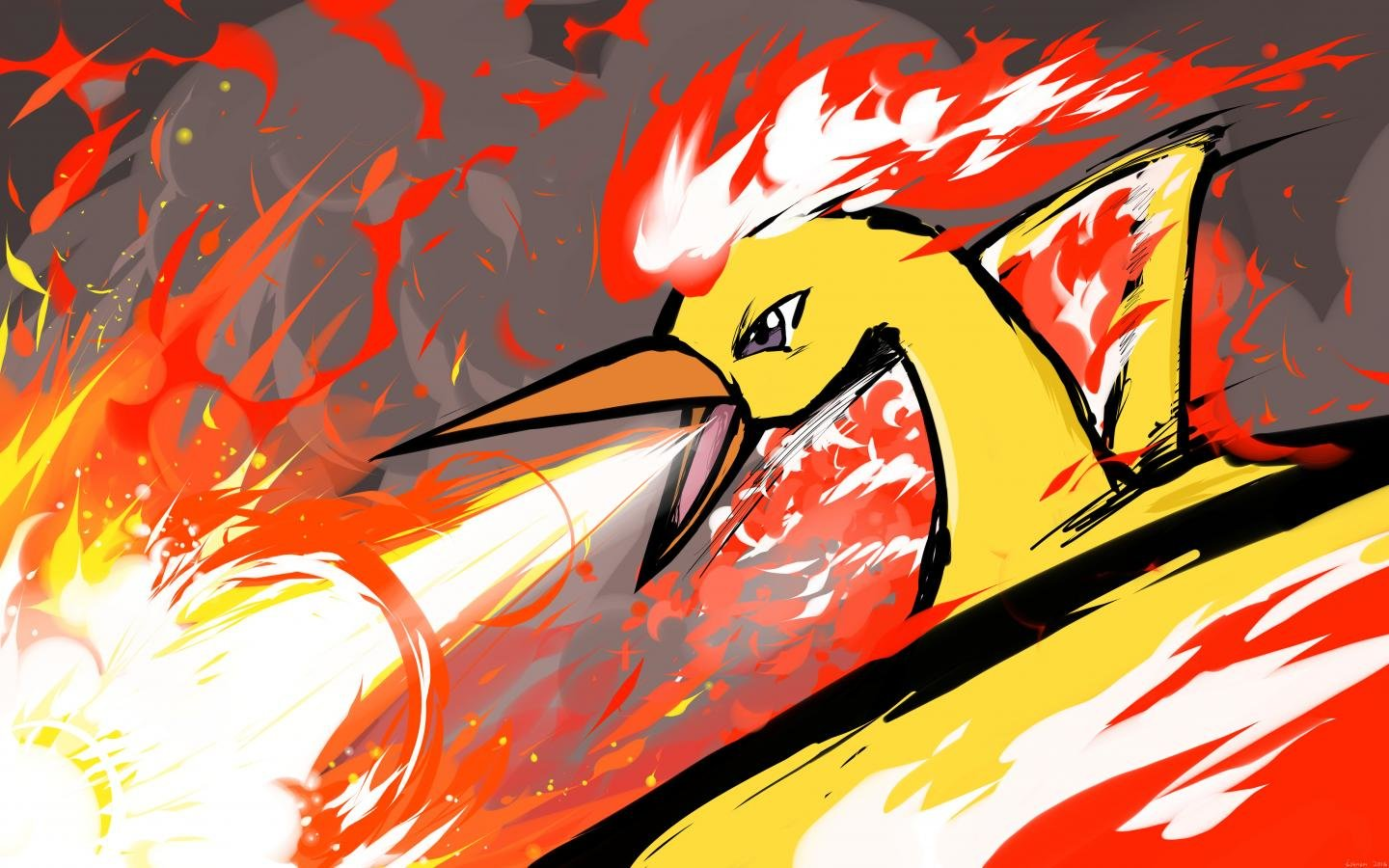 Best Moltres (Pokemon) wallpaper ID:279495 for High Resolution hd 1440x900 PC