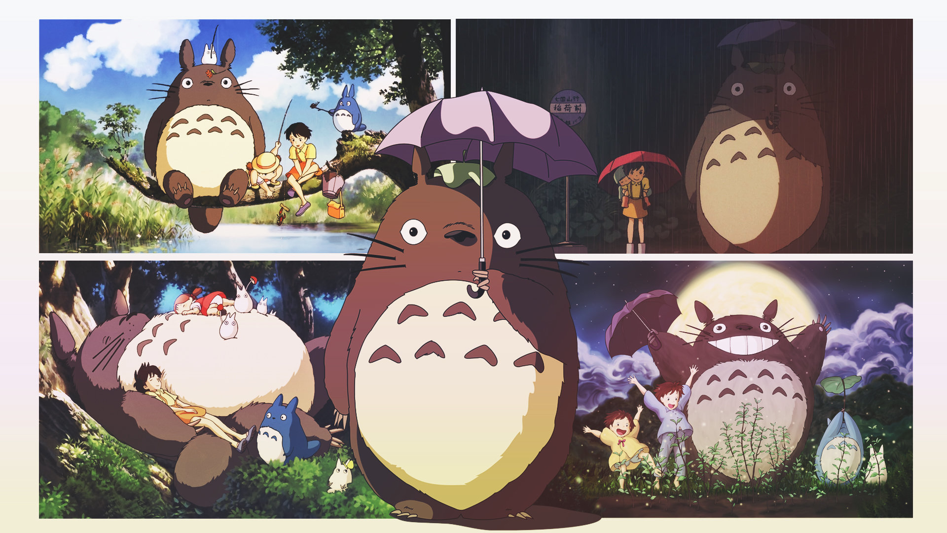 Free My Neighbor Totoro high quality background ID:259346 for hd 1080p desktop