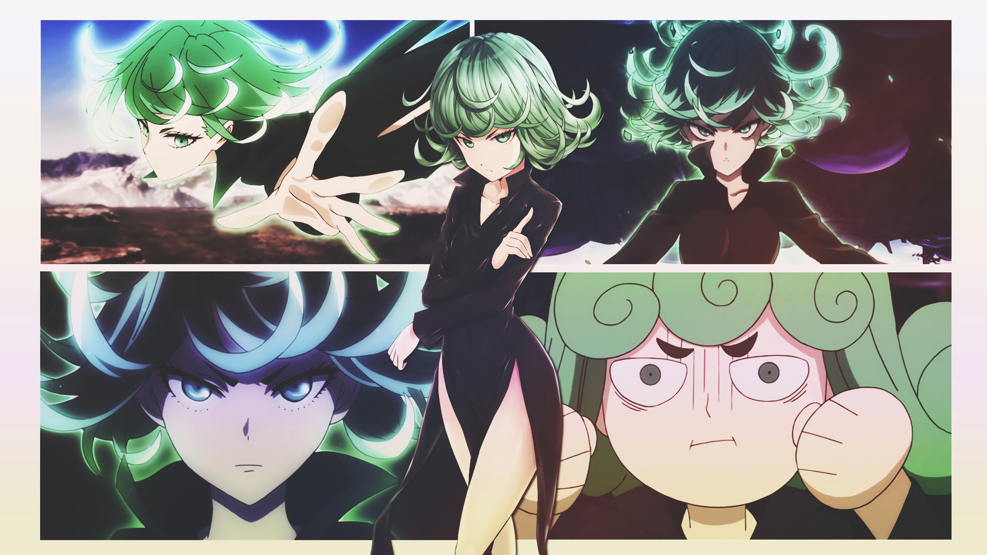 Free download Tatsumaki (One-Punch Man) background ID:345355 1080p for PC