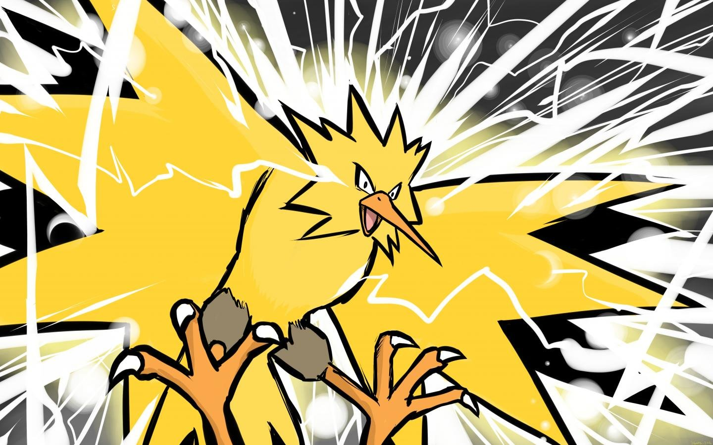Free Zapdos (Pokemon) high quality wallpaper ID:279353 for hd 1440x900 PC