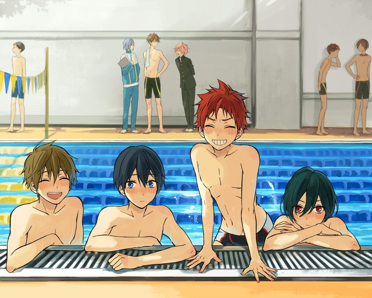 Free Free - iwatobi swim club high quality background ID:232062 for hd 1280x1024 desktop